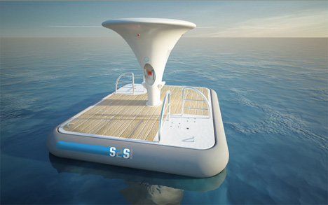 Renewable Tidal Energy From Floating Platforms